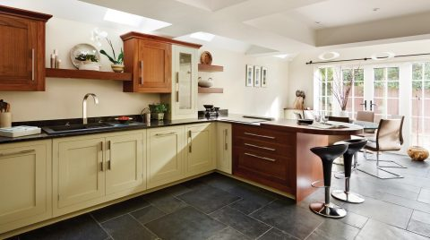 Island Design - Which Suits Your Kitchen Best - Kitchen Peninsular By Harvey Jones