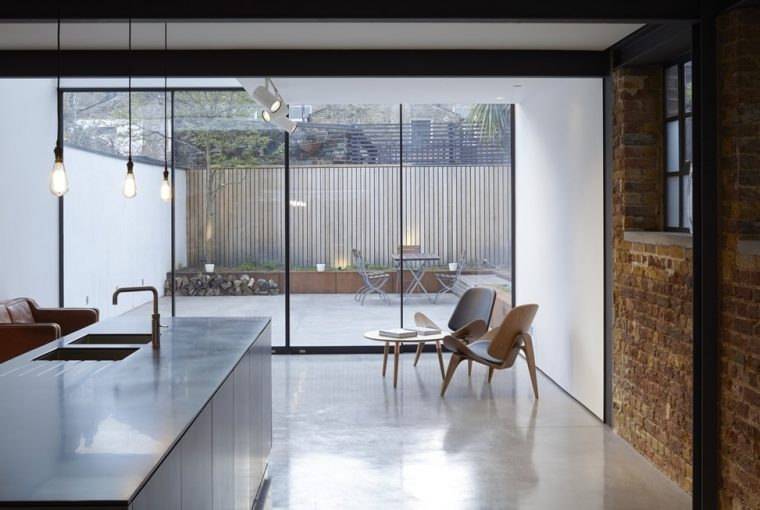 How Concrete Flooring Can Help You Achieve The Minimalist Look - Concrete Floor - Giles Pike 25 Sewdley Street - Image From The Architects Journal