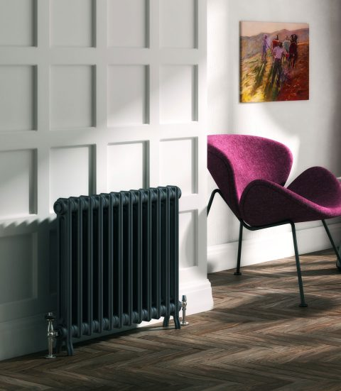 How To Keep Your House Warm This Winter - DQ Crane 2 Column Radiator From Designer Radiators Direct