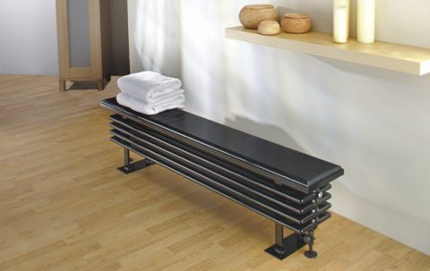 How To Keep Your House Warm This Winter - Ancona Bench Seat Radiator From Designer Radiators Direct