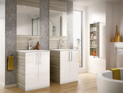 What To Consider When Remodeling Your Bathroom - Homebase - Duel Sinks