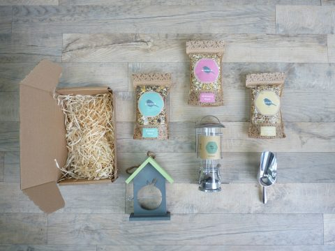 Boxwild's bird lover gift box