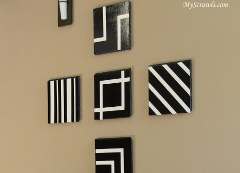 How To Use Ceiling Tiles To Decorate Your Living Room - Wall Art
