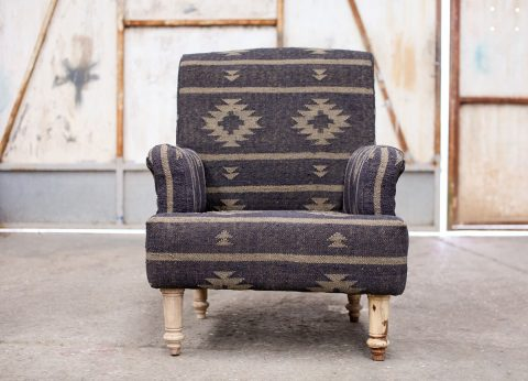 Jute covered chair by nkuku