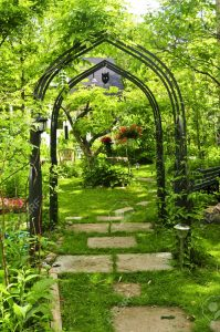 Keeping Your Garden Lush And Green in 2016 - Image From Previews.123rf.com - Lush Green Garden