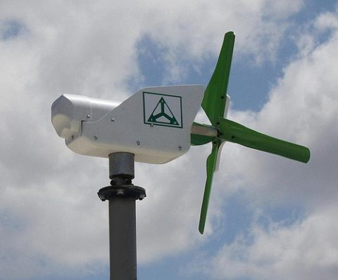Improvements For A Greener, Cheaper Home - Wind Generator - Image By TechnoSpin Inc Flickr