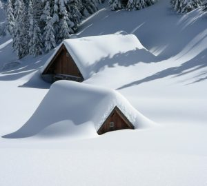4 Tips For insulating Solid Walls In Your Home - House Covered In Snow