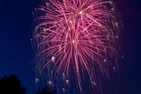 Home Resolutions For The New Year - Fireworks