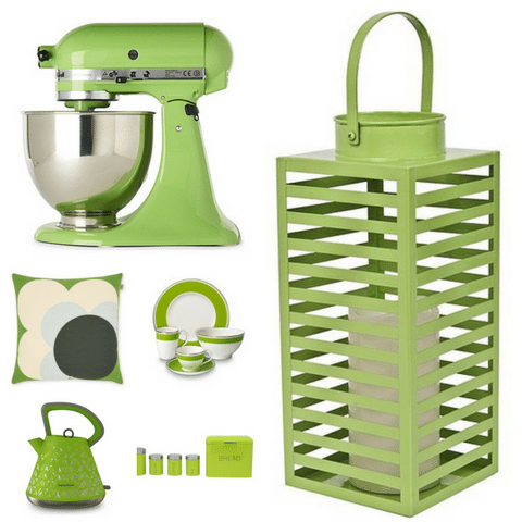 Greenery Chosen as Pantone Colour of the Year 2017 - Accessories