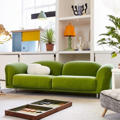 Greenery Chosen as Pantone Colour of the Year 2017 - Moooi Cloud Sofa From Houseology Design Group Ltd.