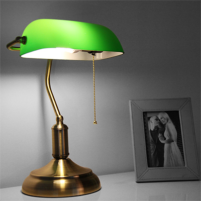 Design Classics: The History Of The Banker's Lamp