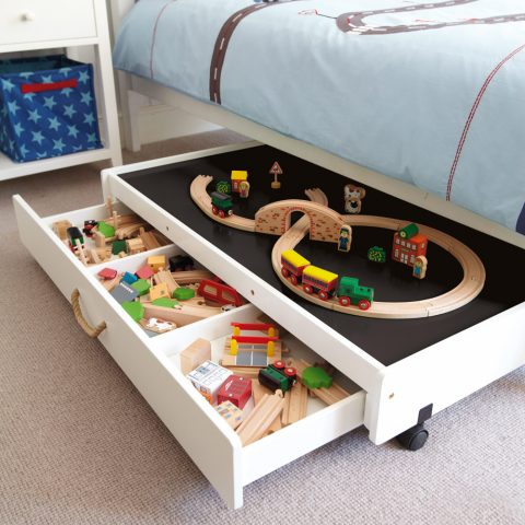 10 Pieces Of Dual-Purpose Furniture We're Currently Obsessed With - Underbed Play Table