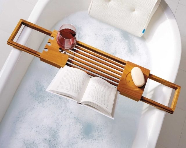 The Easiest Way to Give your Bathroom a New Look - Bubble Bath - Image From ElleDecor.com