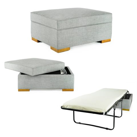 10 Pieces Of Dual-Purpose Furniture We're Currently Obsessed With - iBed Convertible Ottoman