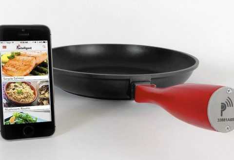 5 Hot New Trends In The Kitchen - Pantelligent frying pan.