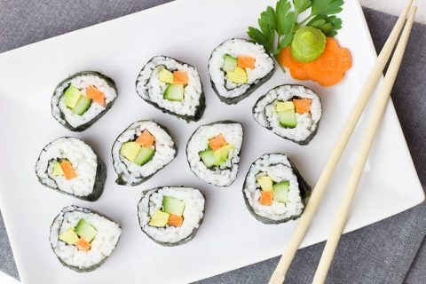 5 Hot New Trends In The Kitchen - Vegetarian Sushi