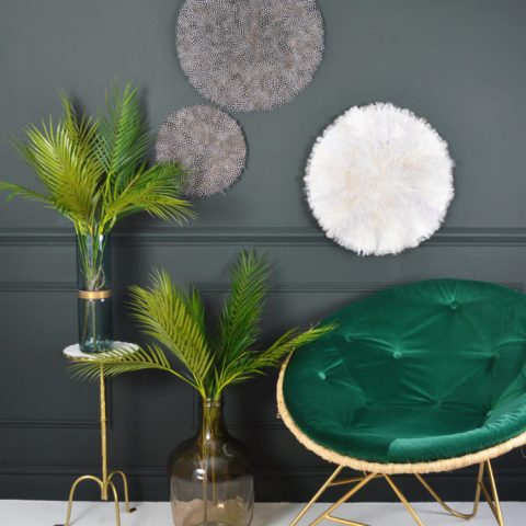 Discover Top Interior Design Trends for 2017 - Velvet and Jewel Tones. - Image From madaboutthehouse.com