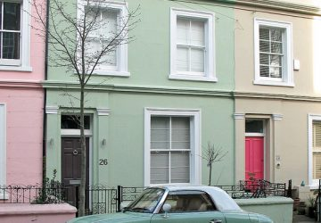 Sash Window Repair London - House with Matching Accessories - West London - Image By Gareth Williams Via Flickr