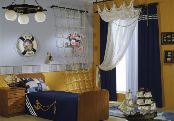 Kids' Bedrooms: Evolving The Room As They Grow - Nautical theme for young boys