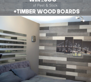 +TIMBER Launch New Peel and Stick Interior Design Product for Walls