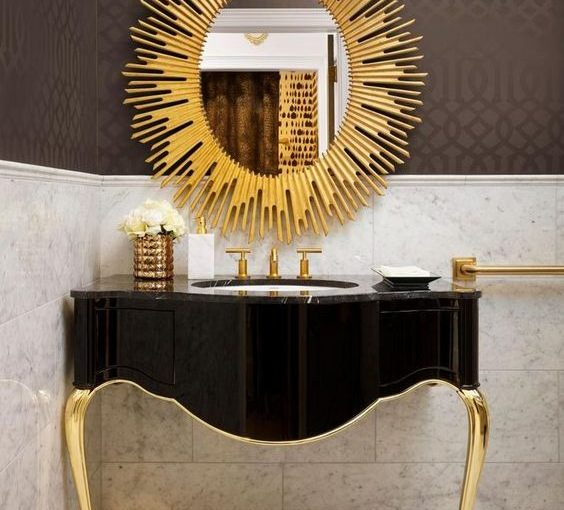 Glamorous Summer Bathroom Ideas - Image From HGTV.com