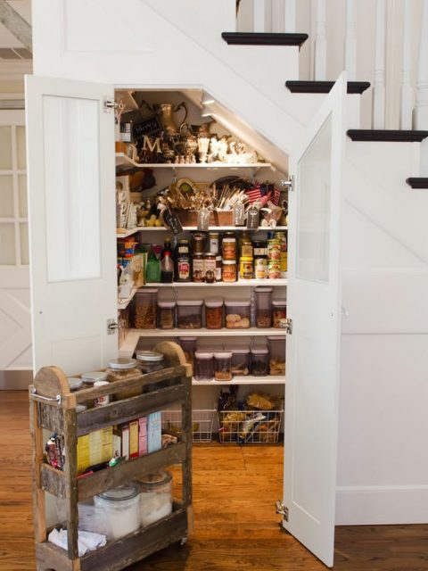 Four Storage Secrets To Beautify Your Home - Image From thekitchn.com - By Gina Biancaniello