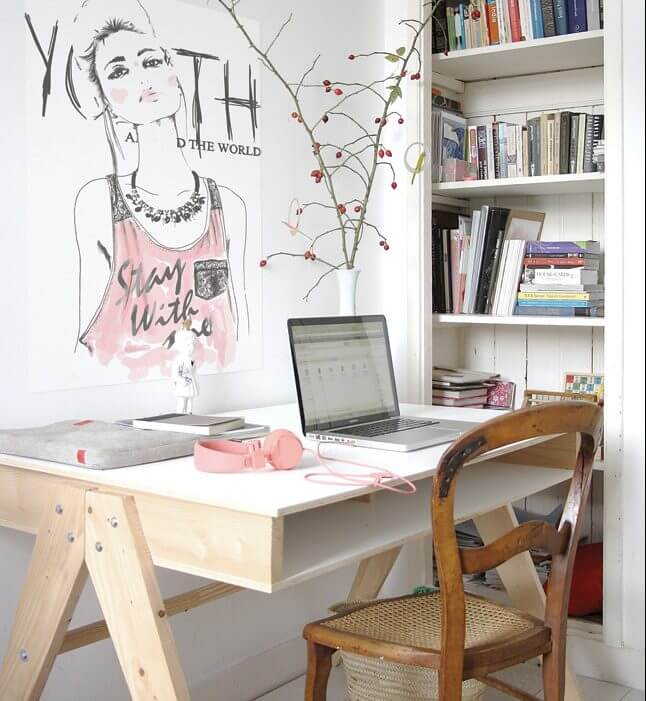 Top Tips To Decorate A Study - Image From houseandhome.ie