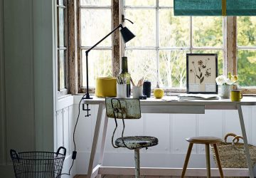 Top Tips To Decorate A Study - Image From IdealHome.co.uk - Image By Emma Lee