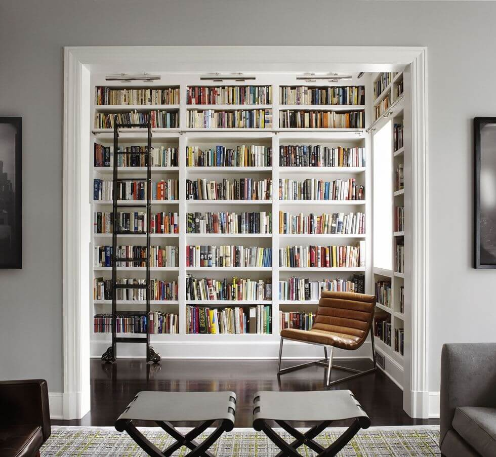 Top Tips To Decorate A Study - Image From ElleDecor.com - Image By Lichten Craig