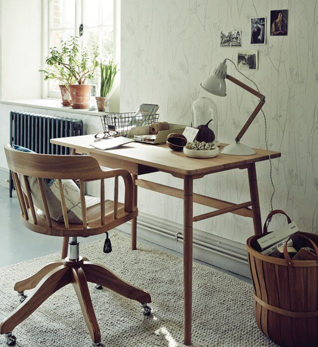 Top Tips To Decorate A Study - Image From houseandhome.ie - Image By JohnLewis