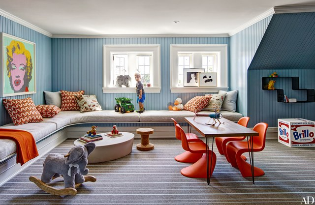 Approaching Interior Design When Moving House - Connecticut Home designed By Mark Cunningham - Via architecturaldigest.com