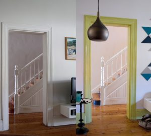 White and Beige Are Out and Coloured Skirting Boards Are In - Image From sahomeowner.co.za