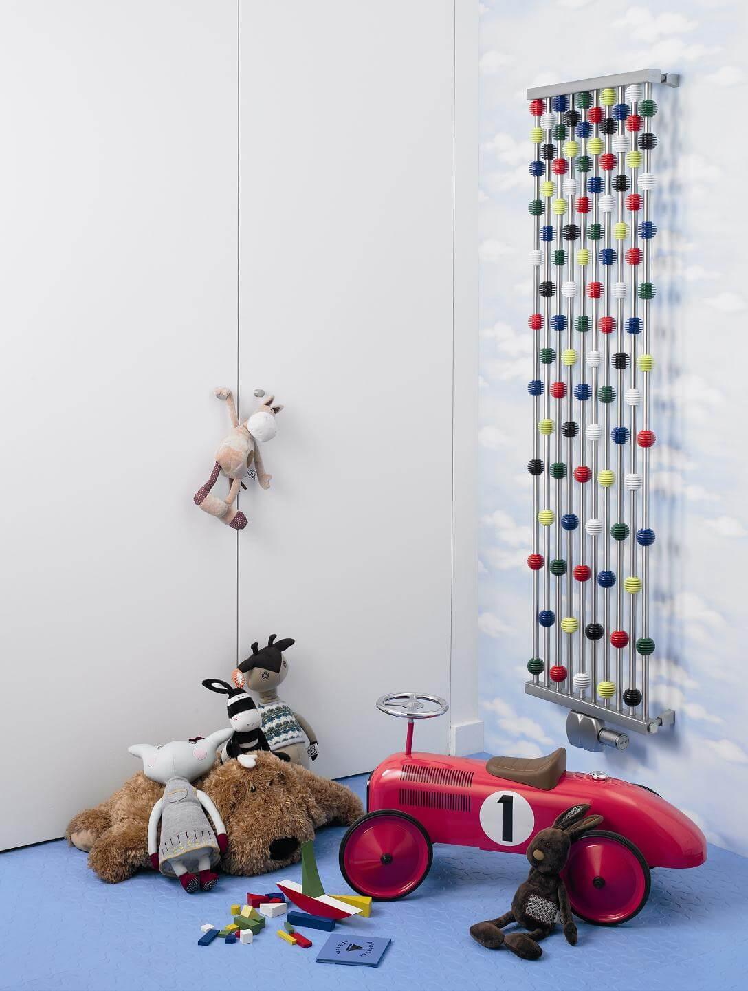 Abacus radiator