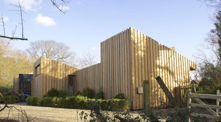 8 Incredible Eco Homes - Passive House/Passivhaus - Norfolk Broads - Image From ForresterArchitects.com