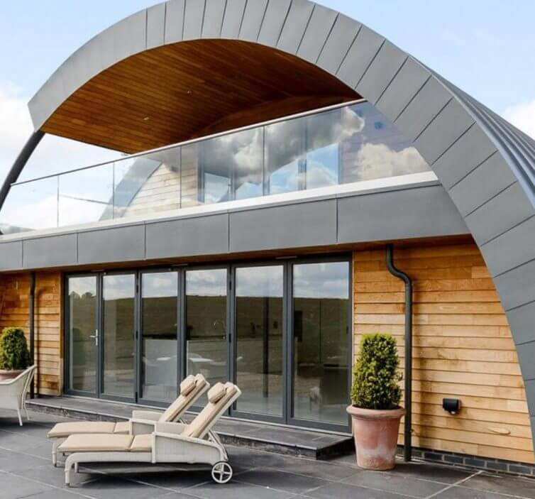 8 Incredible Eco Homes - Zinc House - Image - From Rightmove Via IdealHome.co.uk