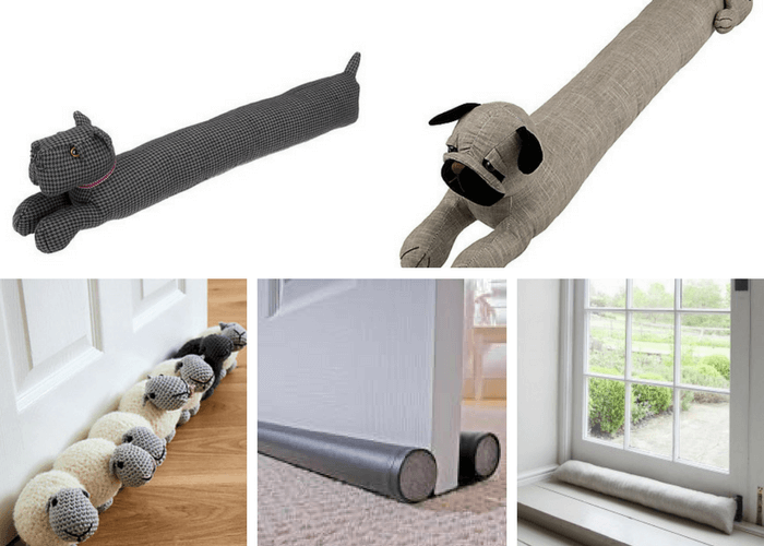 Getting your home ready for the cold months to come - Draft Excluders