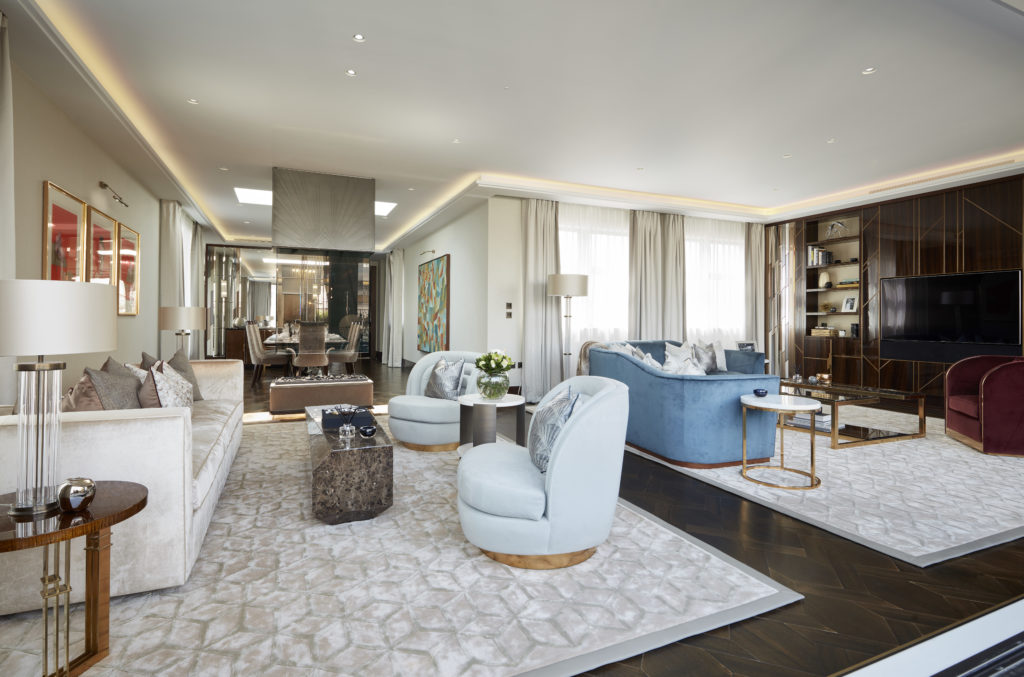 Take a look inside London's International Award-winning Penthouse
