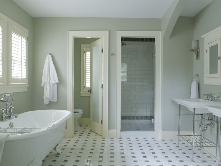 5 Expert (And Affordable) Ways to Create a Luxury Look in Your Bathroom - Image Credit Gridley & Graves Photography - From washingtonpost.com