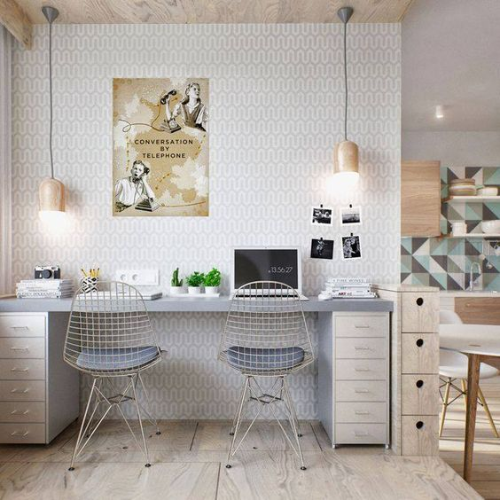 7 Tips To Create A Stylish And Functional Home Office - Image From SandrinePaucher.com