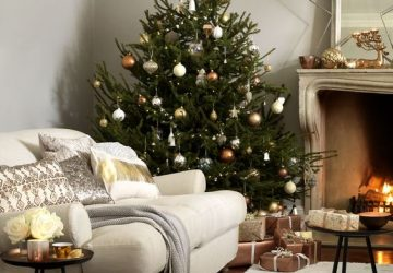 Christmas Decorating Tips - Image From housebeautiful.co.uk