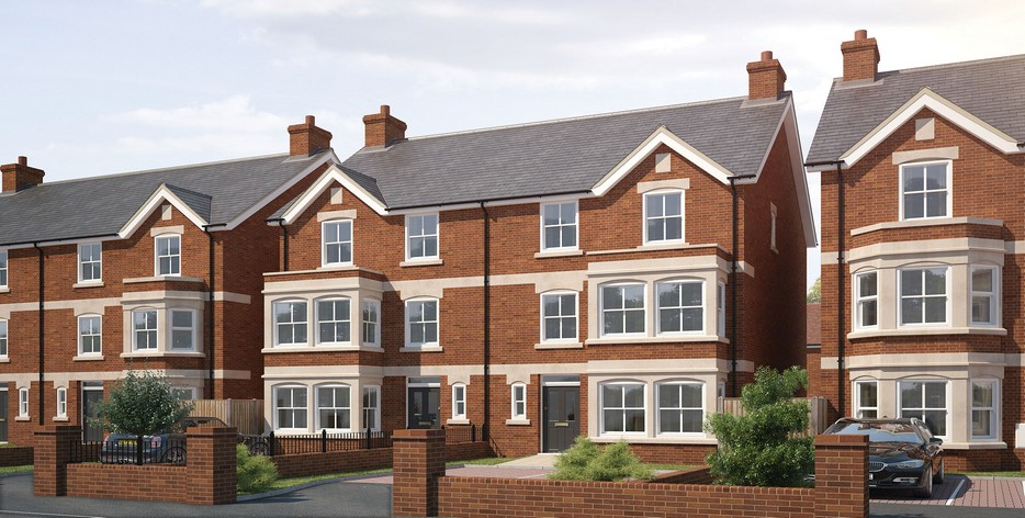Bedfords Thriving Property Market - De Montfort Place Bedford - From Storey Homes