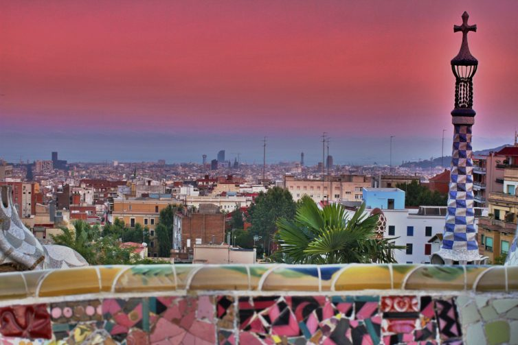 Top 10 Romantic City Breaks - Parc Güell - Barcelona