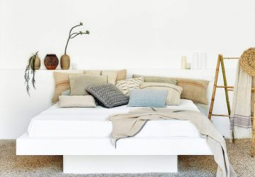 3 Ways To Update Your Bedroom For A Better Night's Sleep - Image From ElleDecoration.co.uk - Photographer Greg Cox