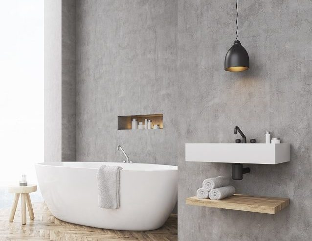 Why Concrete Will Be The Biggest Home Design Trend Of 2018
