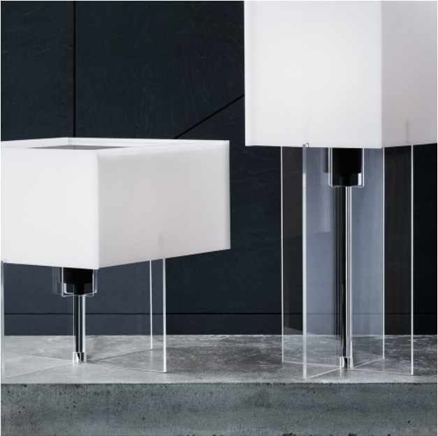 Contemporary Furniture For The Modern Home - Lightyears Cross Plex Table Lamps T500 - Utility Design