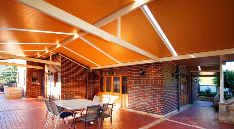 Embrace Patios: Australia Show Us What We're Missing - Classic Double Hipped Alfresco Patios