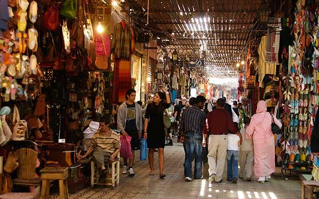 Top Tips When Travelling In Arab Countries - Marrakech Souk