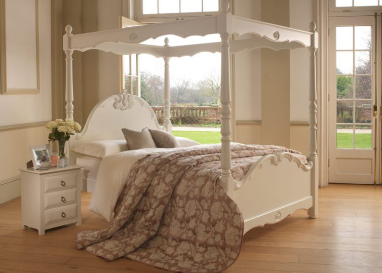Sleep In Style: 4 Reasons To choose A Four-Poster Bed - Orleans Four Poster Bed - Image Via Revival Beds