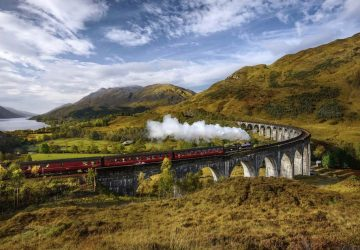 19 Stunning Famous Film Locations You Must See In The UK - Glenfinnan Viaduct, Lochaber - Seen In Harry Potter And The Chamber of Secrets