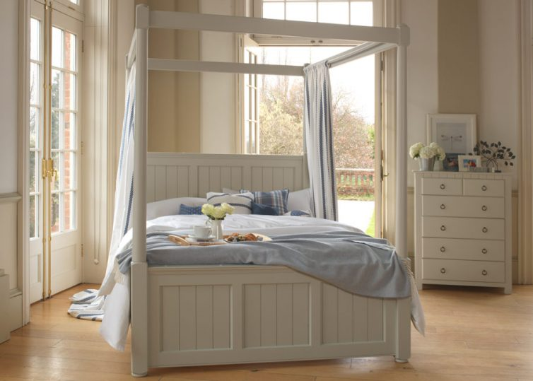 Sleep In Style: 4 Reasons To choose A Four-Poster Bed - Vermont Four Poster Bed - Image Via Revival Beds